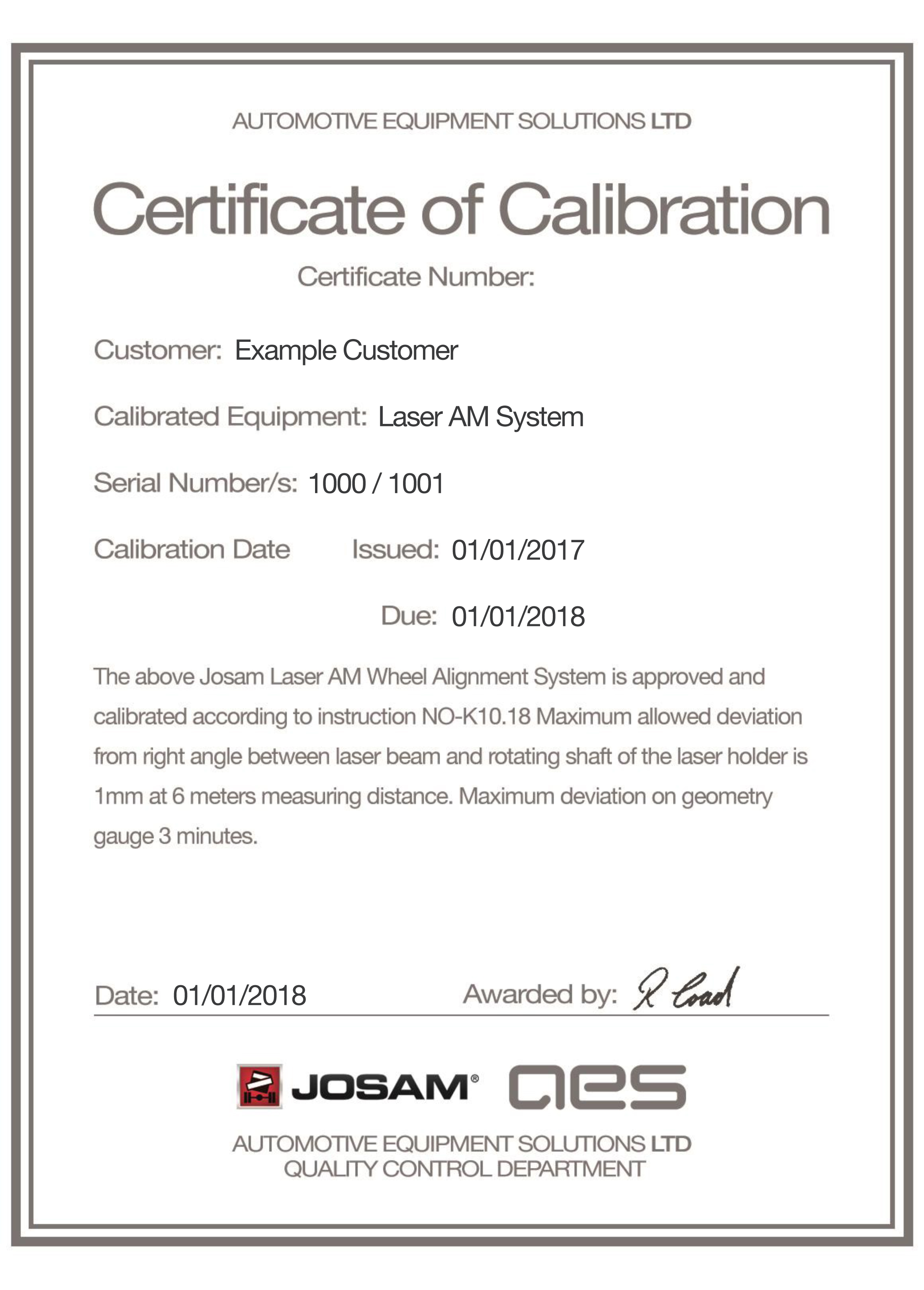 Moderno calibration certificate im genes para la for Pressure gauge calibration certificate template